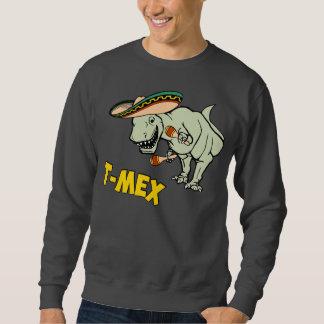 T-MexのTレックスのメキシコティラノサウルス・レックスの恐竜 スウェットシャツ
