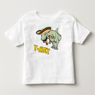 T-MexのTレックスのメキシコティラノサウルス・レックスの恐竜 トドラーTシャツ