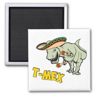 T-MexのTレックスのメキシコティラノサウルス・レックスの恐竜 マグネット