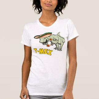 T-MexのTレックスのメキシコティラノサウルス・レックスの恐竜 Tシャツ