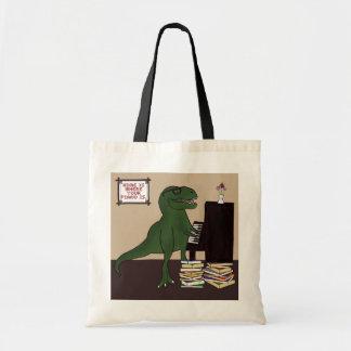T-Rex Piano Tote Bag トートバッグ