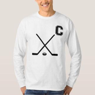 T-Shirtアイスホッケーの大尉 Tシャツ