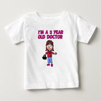 T-Shirt 2歳のメスの博士 ベビーTシャツ