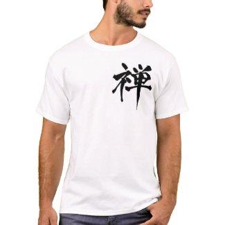"""T-shirt kanji Zen""""禅"""" Tシャツ"""