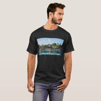 T-shirt with Sea Aquarium Beach Curaçao Design Tシャツ