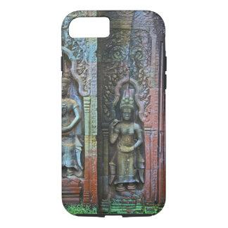 Ta Prohmの寺院、シェムリアップ地域、カンボジア iPhone 8/7ケース