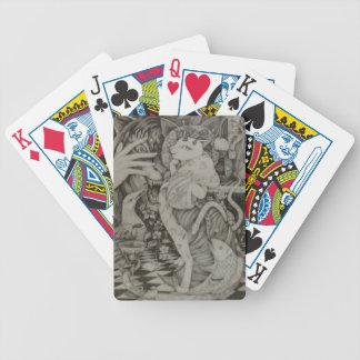 Tabby cat of Poker Face. バイスクルトランプ