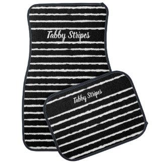 Tabby Stripes カーマット