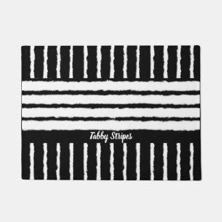 Tabby Stripes ドアマット