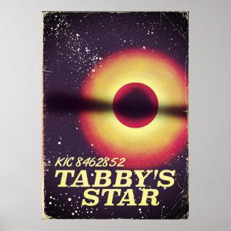 Tabbysの星の宇宙ポスター ポスター