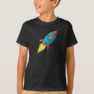 Tabithaフィンク暗いロケットのTシャツ Tシャツ