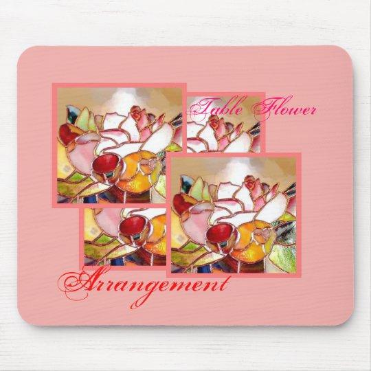 Table Flower Arrangement for Anniversary マウスパッド