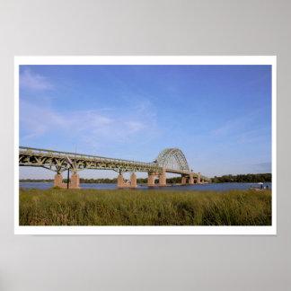 Taconyパルミラ遺跡橋フィラデルヒィア ポスター