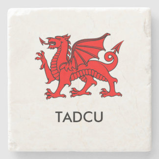 Tadcu -南ウェールズの祖父のコースター ストーンコースター