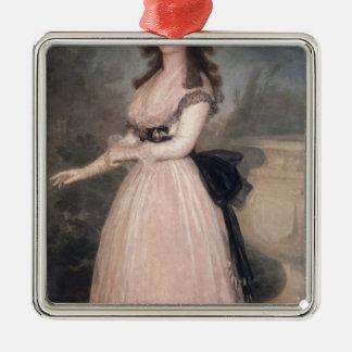 Tadea Arias de Enriquez 1793-94年夫人 メタルオーナメント