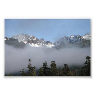 Taebaek山、南朝鮮 フォトプリント