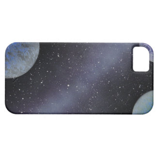 TaeDragonArt Spacescape #4の携帯電話の箱 iPhone SE/5/5s ケース