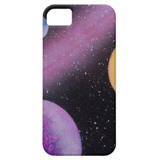 TaeDragonArt Spacescape #5の携帯電話の箱 iPhone SE/5/5s ケース