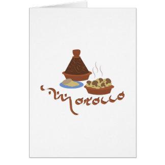 Tagineモロッコ カード