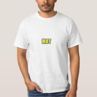 taglineとともに行進 tシャツ
