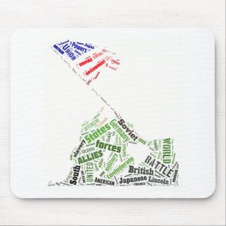 Tagxedoのメモリアルデー(上がる硫黄島の旗) マウスパッド