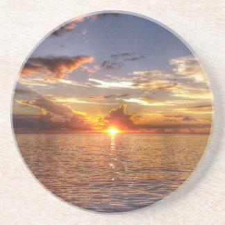 TAHITIANの日没 サンドストーンコースター