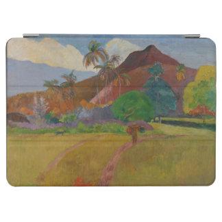 Tahitianの景色1891年(キャンバスの油) iPad Air カバー