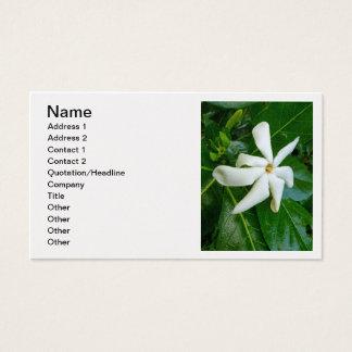 TahitianのGardenia 名刺