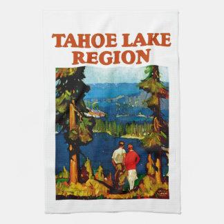 Tahoe湖の地域 キッチンタオル