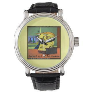 Taiのキーのおもしろいでユニセックスな腕時計の古代芸術 腕時計