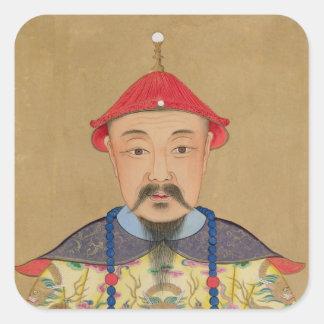 T'ai T'sin Che-Tsou (1638-61年)のポートレート スクエアシール