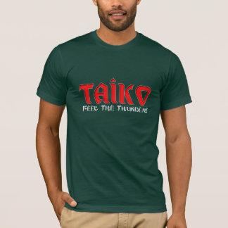 """Taiko """"感じ雷"""" tシャツ"""