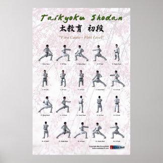 Taikyoku Shodan -最初Kata ポスター