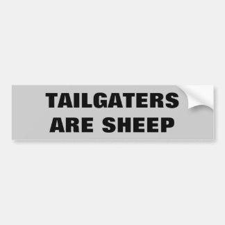 Tailgatersはヒツジです バンパーステッカー