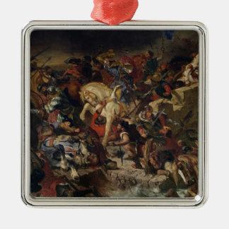 Taillebourgの戦い、1242年7月21日1837年 メタルオーナメント
