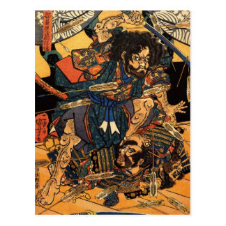 tairaの攻撃の間のHasebe Nobutsura ポストカード