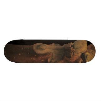 takashi yamauchi's skateboard 08102010 21.6cm オールドスクールスケートボードデッキ