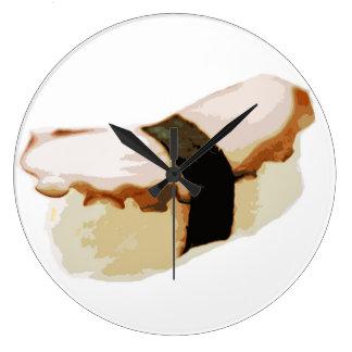 Tako Nigiriの寿司 ラージ壁時計