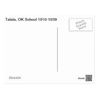 Talalaの良い学校1910-1939年 ポストカード
