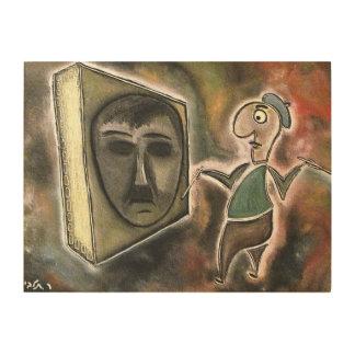 talby rafiによるペインター ウッドウォールアート