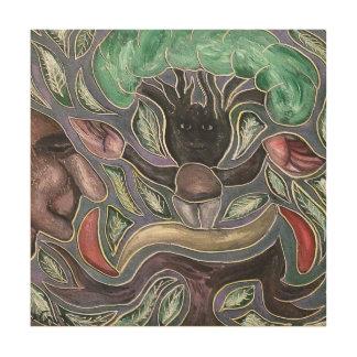 talby rafiによる人そして木 ウッドウォールアート