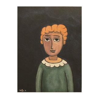talby rafiによる小さい男の子 ウッドウォールアート