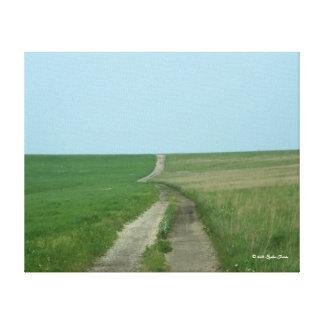 Tallgrassの草原の国民ジャム キャンバスプリント