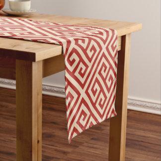 Talosianの赤いグランデ短いテーブルのランナー ショートテーブルランナー