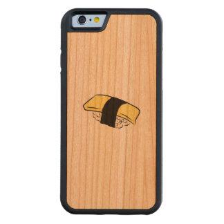 Tamagoの寿司のEggrollの寿司のMakiの日本のな食糧愛 CarvedチェリーiPhone 6バンパーケース