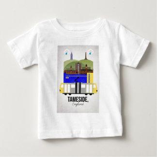 Tameside ベビーTシャツ