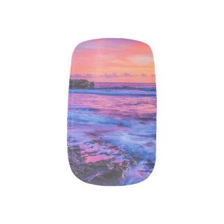 TANAHのロットのバリ島の日没 ネイルアート