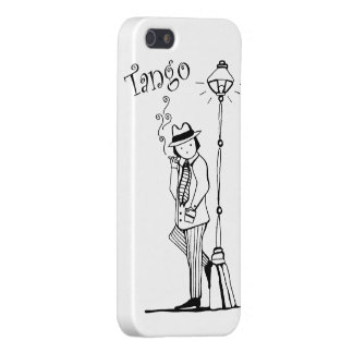Tanguerito Compadritoのタンゴのキャラクター iPhone 5 Cover