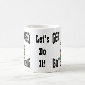 Tanked潜水のマグ行きます得て下さい コーヒーマグカップ