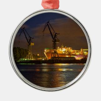 Tankshipのハンブルク造船所-海軍ライン メタルオーナメント